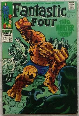 Fantastic Four #79 (1968 Marvel) 1st series VG+ condition.
