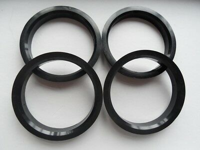 4x Coyote Wheel Hub Centric Rings 65.1mm ID to 67mm OD Plastic W67-6510