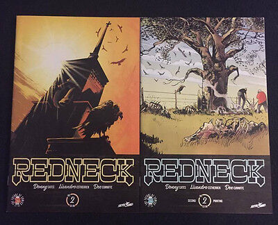 REDNECK #2 1st and 2nd print variant covers Donny Cates