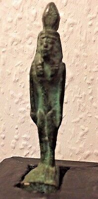 Very Interesting Early Bronze Egyptian Figure - Very Rare - L@@k