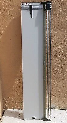 "Saunders Rotatrim 60"" paper cutter lightly used Rotary Trimmer"