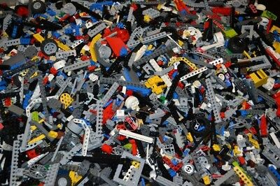 1 Kg Mixed Lego Parts ,used, Including Megablocks And Bionical