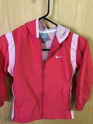 Nike Girls Size 5 Jacket With Hood