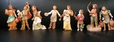 "Fontanini ?? Italy 4"" Scale Nativity 8 Pieces"
