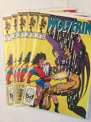 Wolverine 20 Five Comic Dealer Lot