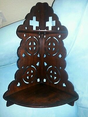 Antique Arts Crafts Gothic Revival-- handcrafted
