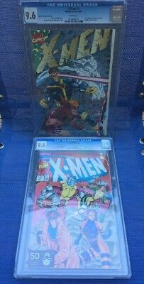 X-Men #1 Special Collector's Edition CGC 9.6 Lot (1991 Marvel Comics) TWO BOOKS!