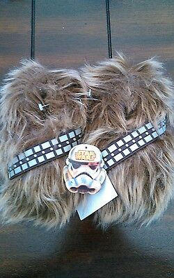 Star Wars Disney Wookie Feet Slippers Size 9-10 and 11-12