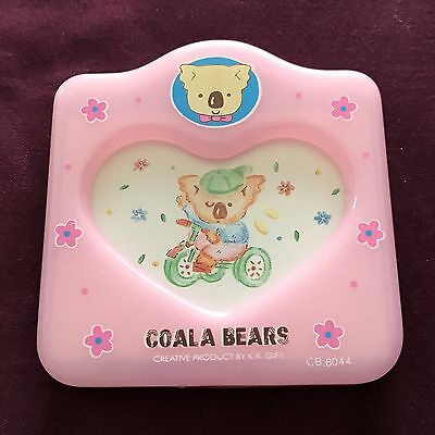 COALA BEARS Pink Picture Frame with Heart Shaped Display Opening