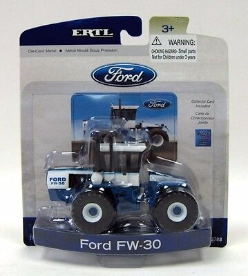 Ford Fw-30 Series Tractor 1977 Diecast Scale 1/64 Ertl