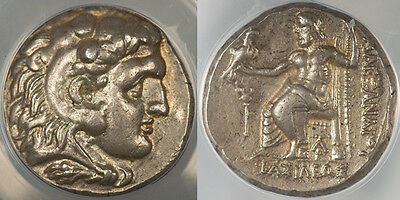ANACS EF45 - Alexander the Great Tetradrachm 328-320 BC possible Lifetime Issue!