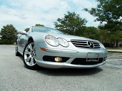 2003 Mercedes-Benz SL-Class SL55 AMG No Reserve Exotic Version Of The SL500 - Very Clean - AMG - 290+ PICTURES - Park Sensors