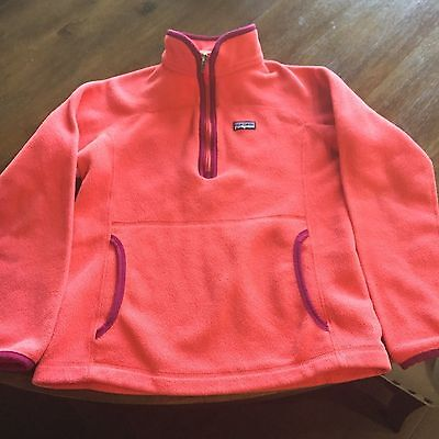 Girl's Patagonia Fleece Jacket Size L (12)