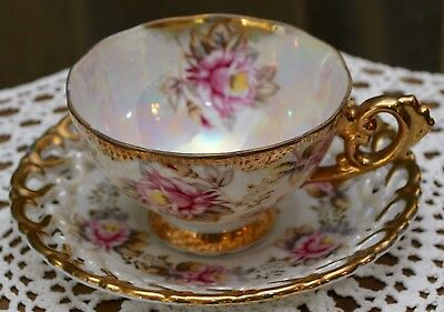 Shafford teacup and saucer