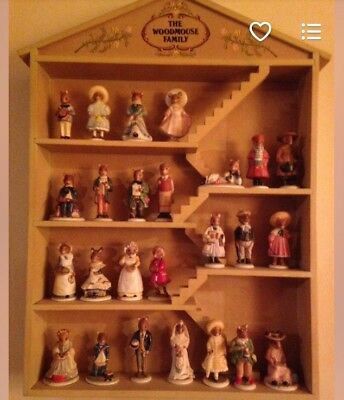 The Woodhouse Family 25pc Collection By Franklin Mint