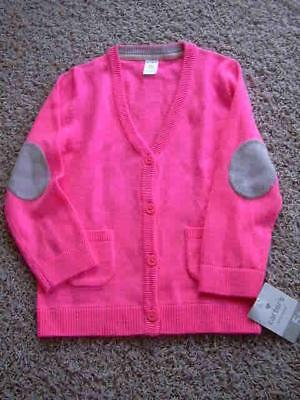 Brand NEW Size 5T Carter's Cardigan Sweater NWT Neon Pink Girls BTS