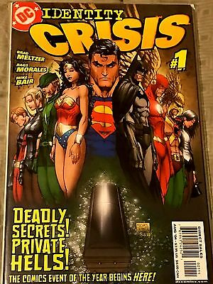 Identity Crisis #1 - Justice League, Michael Turne cover and art