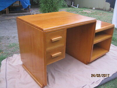 Solid Heavy Hand Made Desk-Very Versatile-Great Smaller Space Or Kids Room