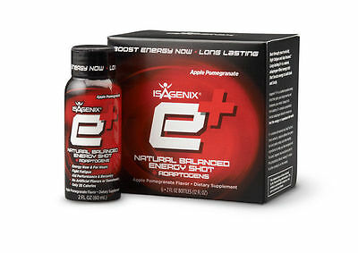 Isagenix E+ Natural Energy Shot - BRAND NEW & FREE Postage