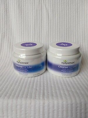 2x Isagenix Cleanse for Life Powder Rich Berry Flavour - 96g Canister - NEW
