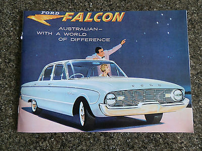 1960 Ford Xk Brochure Incl ''rare'' Colour & Upholstery Chart 100% Guarantee