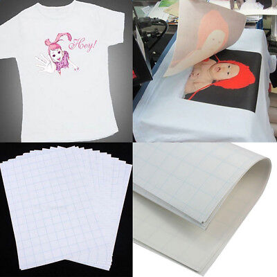 2pcs A4 Heat Transfer T-Shirt Laser/Inkjet Iron-On Paper  Light Color Fabric