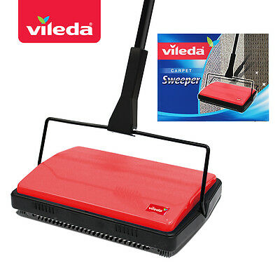 Vileda Carpet Sweeper with Triple Action Brushes