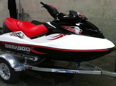 Seadoo 3 Seater Supercharged Wake 215 Jetski & Trailor 2008 Model Imported!!