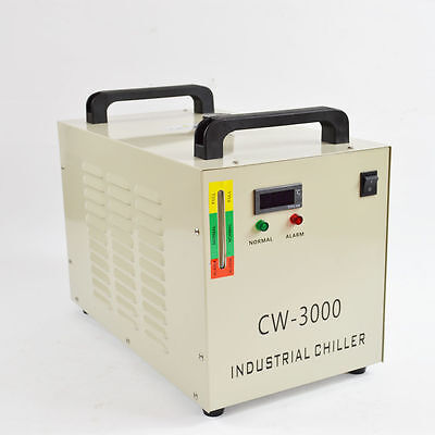 220Thermolysis Industrial Water Chiller CW-3000AG for CNC 60/80W CO2 Glass Tube
