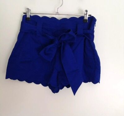 Forever New Women's Blue Shorts Size 10