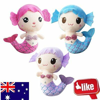 Plush Toys Gift For Baby Kids Girls Children Cute Lovely Mermaid Stuffed Doll P6