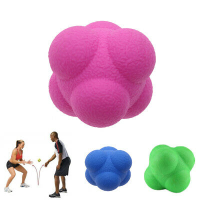 Sports Hexagonal Hex Speed Agility Training Fitness Ball Reaction Exercise Ball