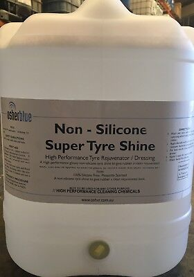 Non Silicone Tyre Shine / Dressing 20Ltr - New Thicker Formula
