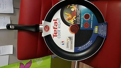 Tefal Cook Right Frypan with Thermospot, Black, 32 cm
