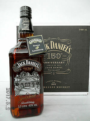 Jack Daniels Scenes From Lynchburg No.7 Full/Sealed1 Litre 43% With Neck Tag!!!