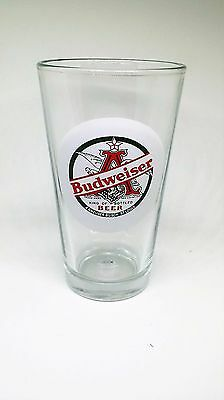 "Budweiser ""King of Bottled Beer"" Pint Glass - HTF"