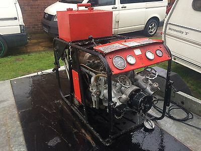 Rover 1S60 Gas Turbine Jet Engine APU Not Barn Find Fire Water Pump Stationary