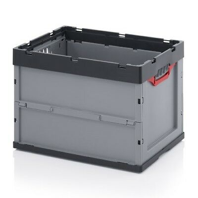 professional folding bins 60x40x42 Eurobox stackable foldable
