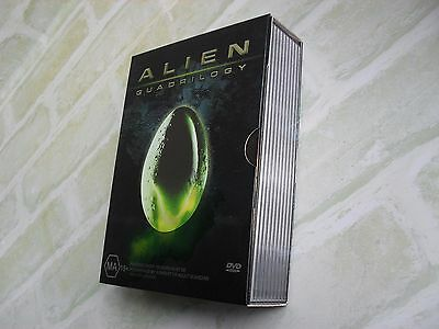 Alien - Quadrilogy - Region 4 Pal - 9 Disc Dvd Set - Comes With Booklet