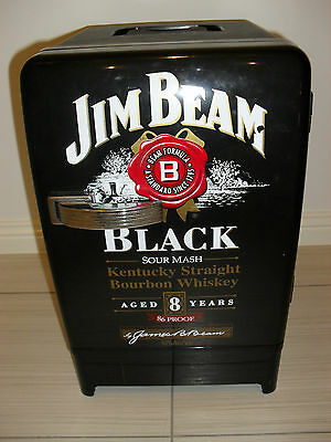 Jim Beam Black Sour Mash Bourbon Whiskey Portable Cooler / Warmer - Collectable