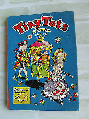 TINYTOTS ANNUAL 1955 - STORIES and PICTURES FOR LITTLE PEOPLE Hardcover Book
