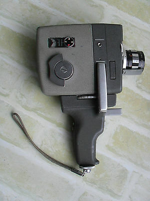 Rare Vintage Elmo , 8-Ss - Zoom Auto Eye 8Mm Movie Camera - Made In Japan