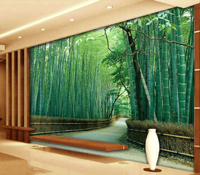Nice Bamboo Sea 3D Full Wall Mural Photo Wallpaper Printing Home Kids Decoration