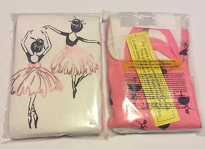 New Girls Old Navy Ballerina 2 Piece Pajama Set 12M 18M 2T  Long Sleeve Pants