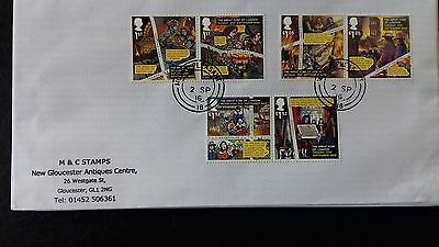 GB 2016 Commemorative Set of very fine used The Great Fire of London Stamps