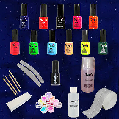 KIT professional 5 Smalti gel Semipermanenti UV Polishgel Germania nail art
