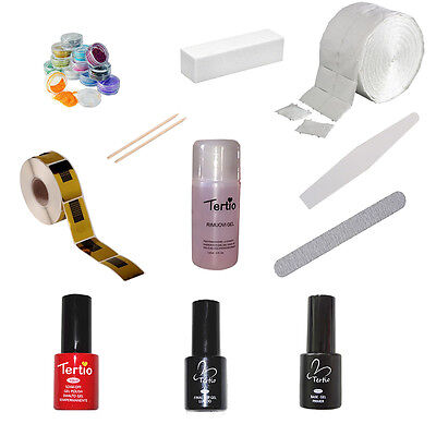 Kit Smalti Semipermanente Unghie Gel Polish 10ml