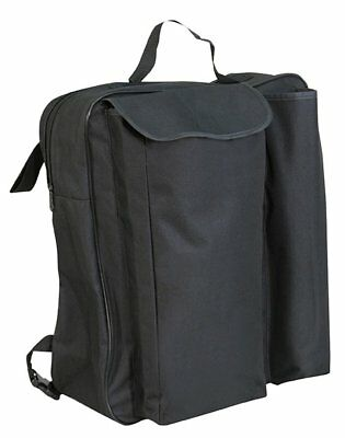 Aidapt Black Wheelchair Crutch Bag