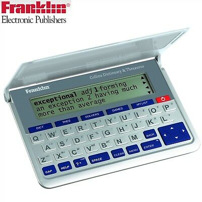 Franklin DMQ570 Electronic Collins English Dictonary, Thesaurus & Spell Checker