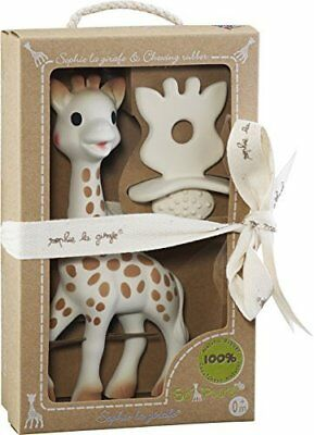 Vulli - Sophie the Giraffe, baby's first toy. Natural Soother